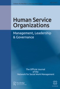 Human Service Organizations: Leadership, Management and Governance Journal